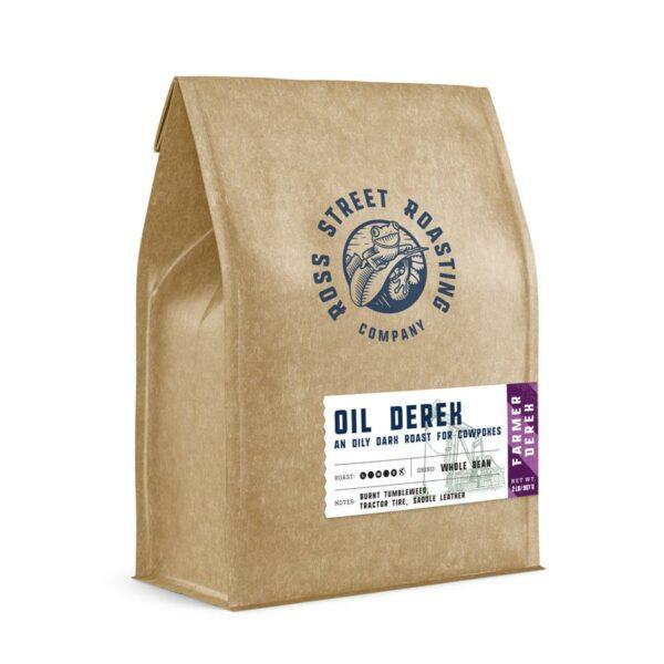 Oil Derek – Farmer Derek's Extra Dark Roast Coffee Blend