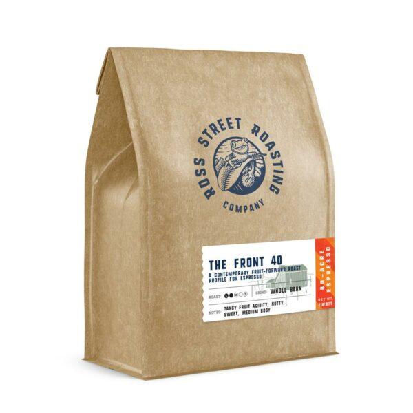 The Front 40 – Contemporary Fruit-Forward Roast for Espresso