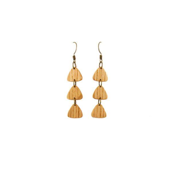 Tri-drop Earrings