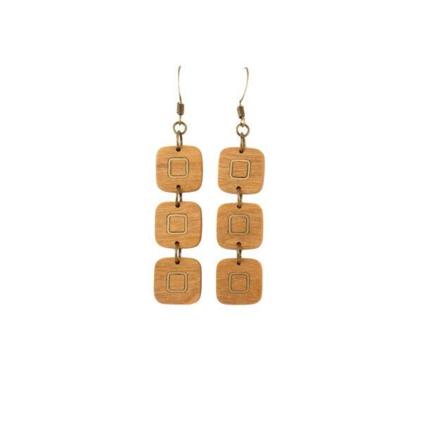 Square Luminous Earrings