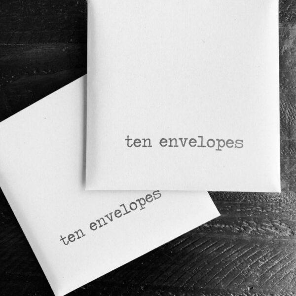 SMACK envelopes {set of 10}