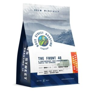 The Front 40 – Contemporary Fruit-Forward Roast for Espresso