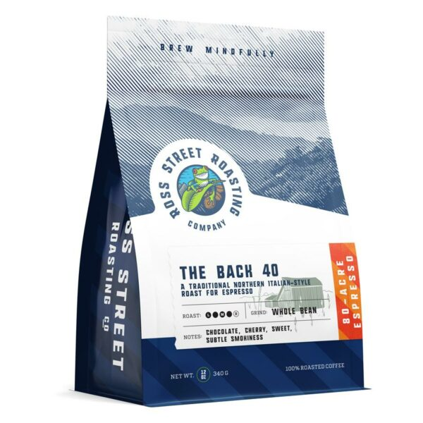 The Back 40 – Traditional Northern Italian Roast for Espresso