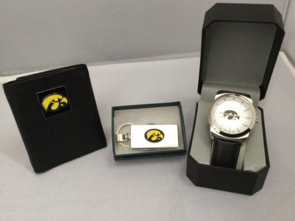 Iowa Wallet, Money Clip & Watch Gift Collection