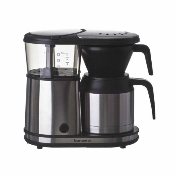 Bonavita Coffee Maker BV1500TS – 5 Cup Thermal Carafe Automatic Brewer