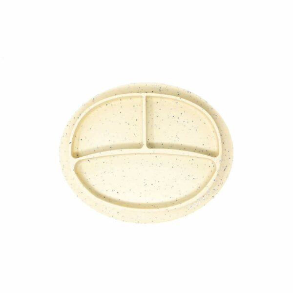 Baby Bar & Co Silicone suction Plates navajo beige
