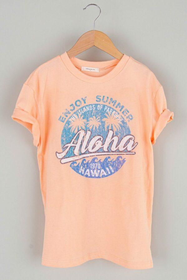 aloha graphic tee