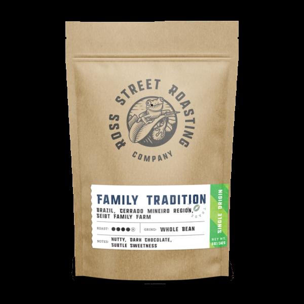 Family Tradition – Brazilian Coffee, Seibt Family Farm, Cerrado Mineiro Region