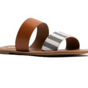 Athena Gray & Beige Sandals