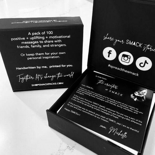Inspirational SMACK message cards – the {original 2.0} pack