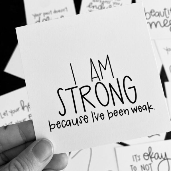Inspirational SMACK message cards – the {warrior} pack