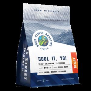 Cool It, Yo! – DECAF Colombian Coffee