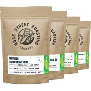 Flight of Fancy: Single Origin coffees, Four 5oz bags