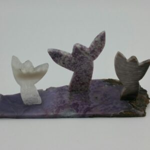 Three Angels Sculpture by Bob Watkins