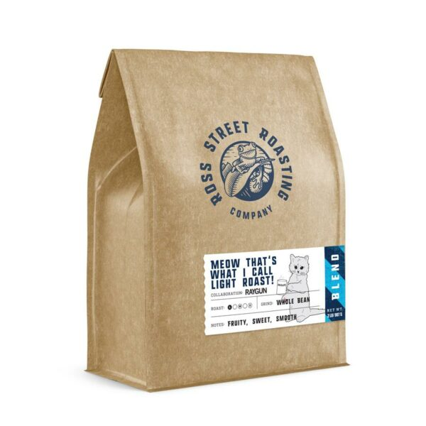 Meow That's What I Call Light Roast! – RAYGUN collaboration, Light Roast Coffee Blend