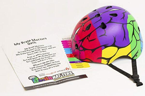 Brain Hat-ter Helmet