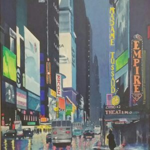 New York, NY painting by Cris Sell