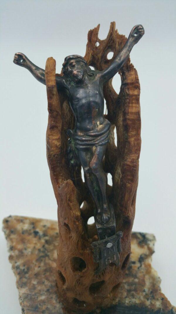 Crucifix Sculpture by Bob Watkins