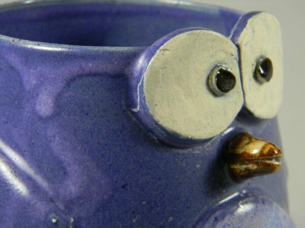 Hand Crafted Blue Bird Mug