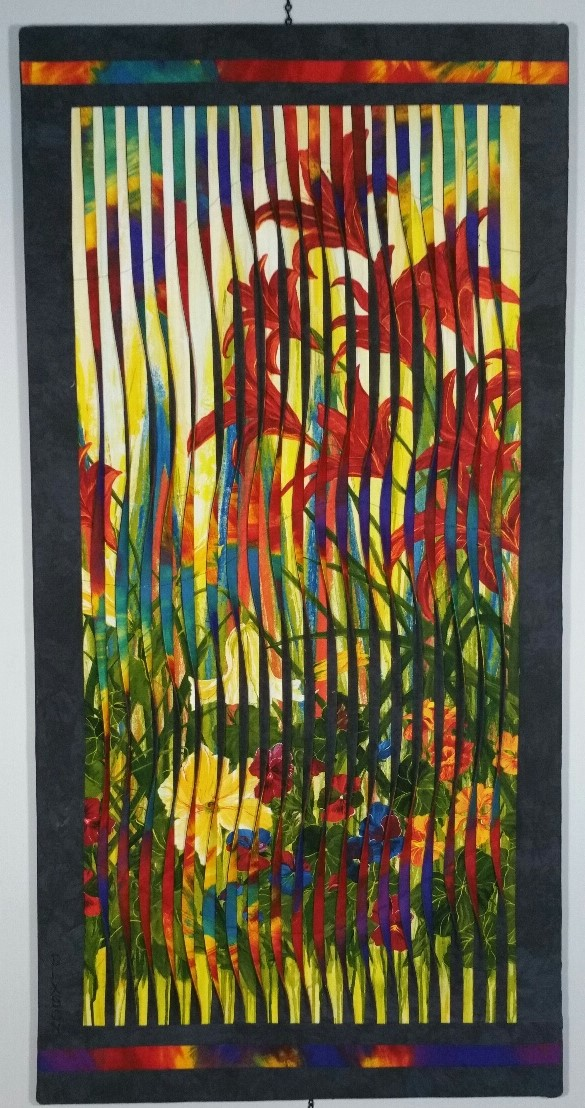 Fabric Daylilies by Don Dixson