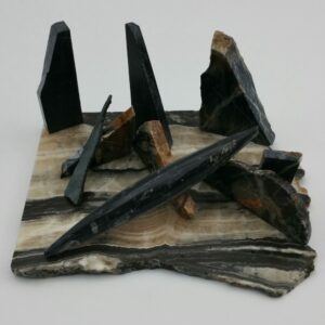 Derecho Sculpture by Bob Watkins