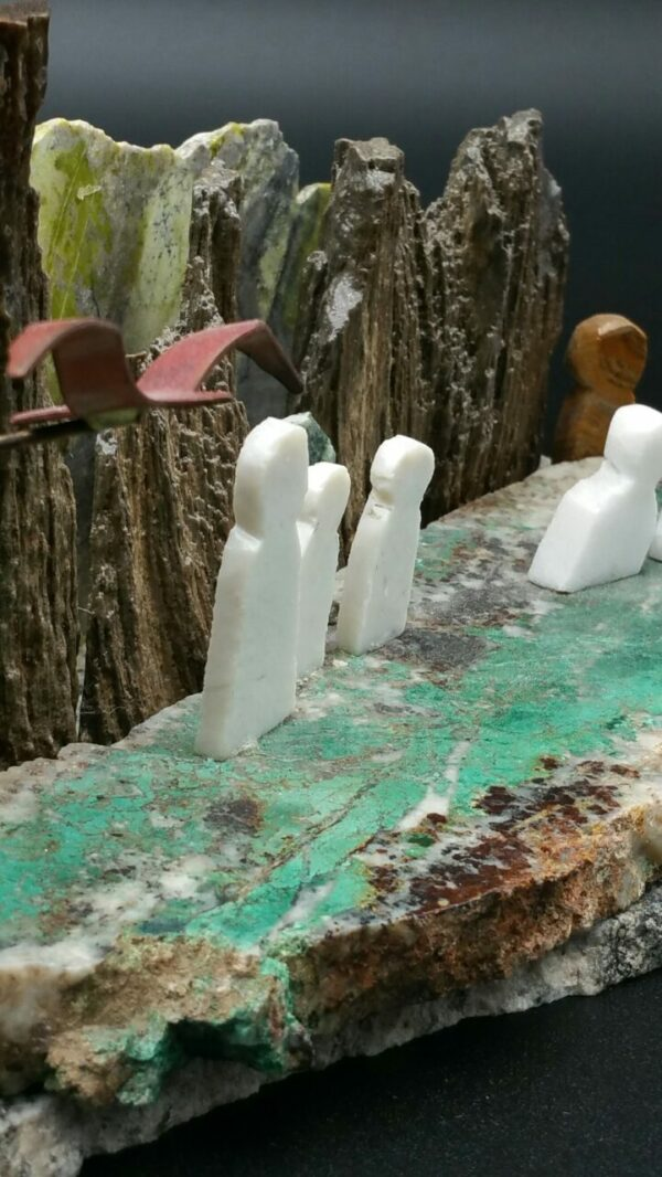 The Dove Of Love At The Jordan Sculpture by Bob Watkins