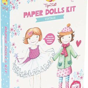 Vintage Paper Dolls Craft Kit
