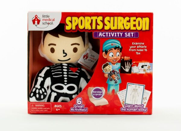 Sports Surgeon Doll+Book