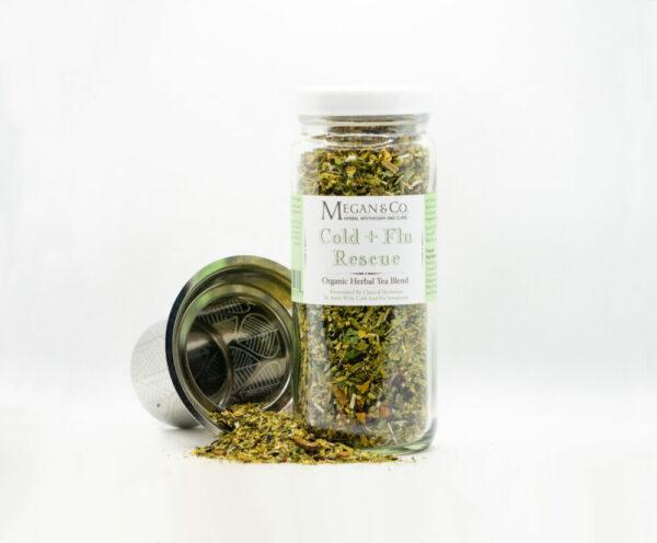 Cold + Flu Rescue Herbal Tea