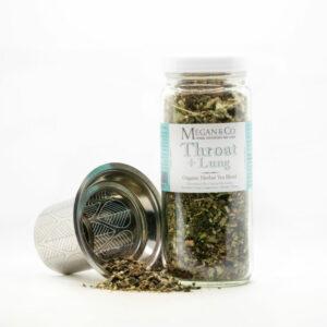 Throat + Lung Herbal Tea Blend