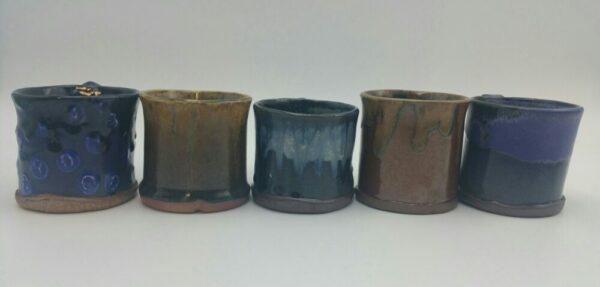 Hand Crafted Coffee Mugs by Bill Ball