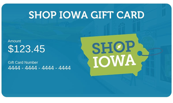 Shop Iowa Gift Card
