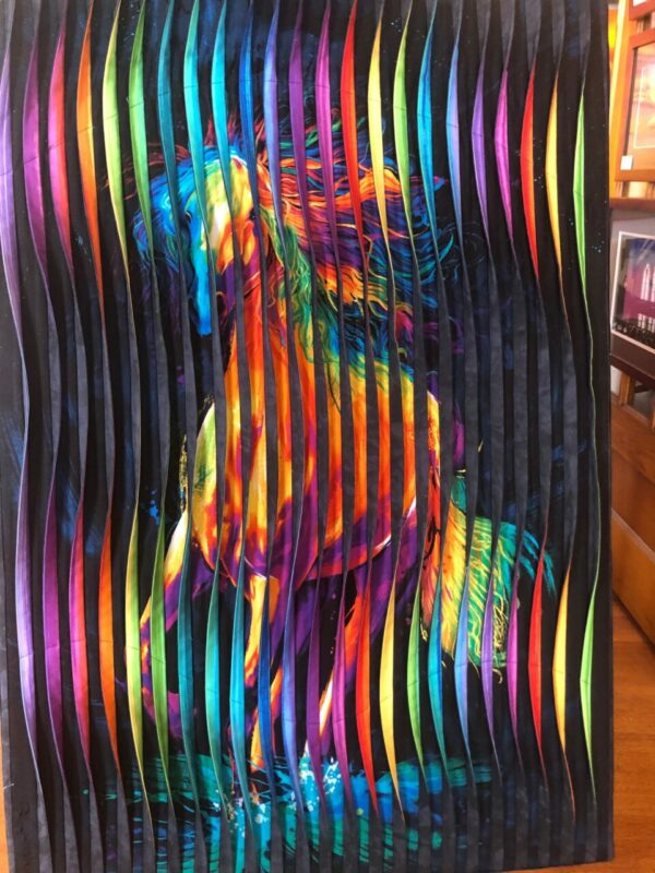 Colors of the Wind Fabric Art by Don Dixson