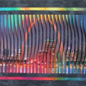 St. Louis Arch Photo Fabric Art by Don Dixson
