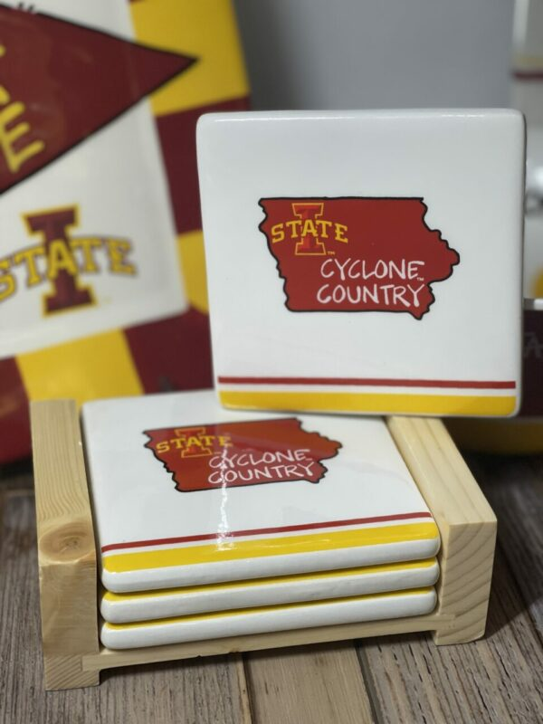 Iowa State Cyclones Coaster Set