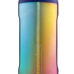 BruMate-Hopsulator Slim-Titanium Rainbow