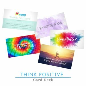 Think Positive Cards