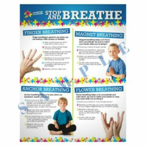 Stop and Breathe Poster