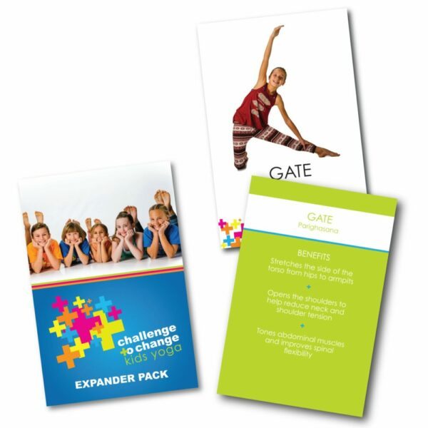 Kids Yoga Card Expander Deck
