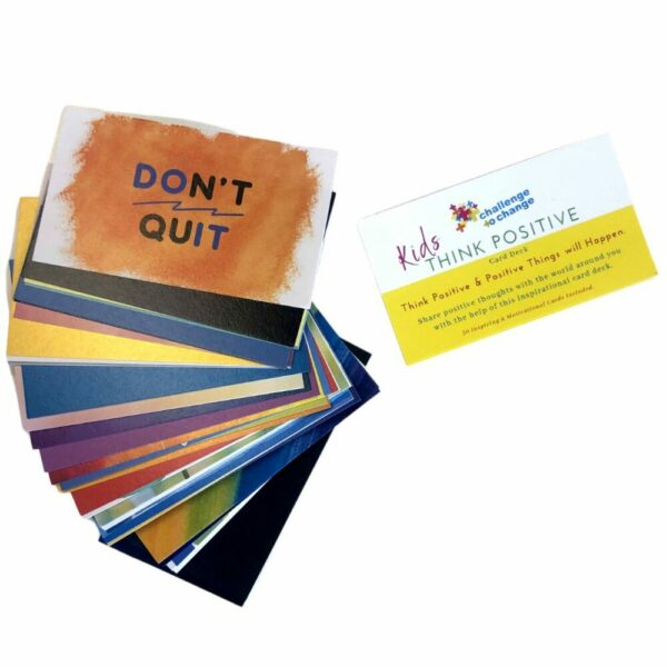 KIDS Think Positive Cards