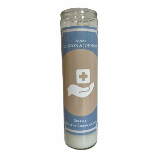 House of Johnson & Johnson Prayer Candle
