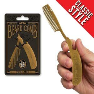 Confidence is Key Beard Comb