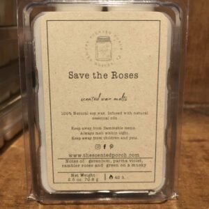 Save the Roses Wax Melt