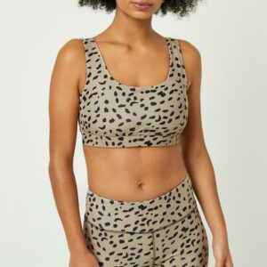 Abstract Dotted Active Sports Bra