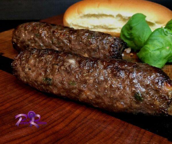 Skinless  Beef Bratwurst