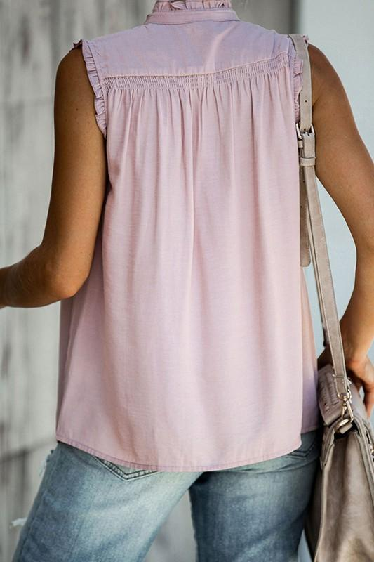 Apricot Casual Tunic Top
