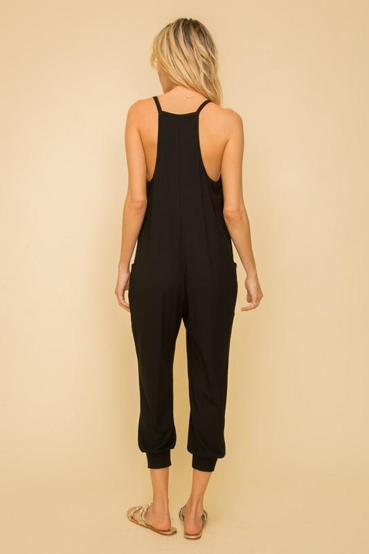 Cami Black Jumpsuit