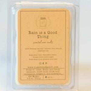 Rain is a Good Thing Wax Melt