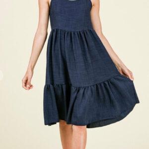 Basic Linen Dress (More Colors)