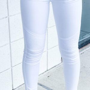 White Moto KanCan Jeans